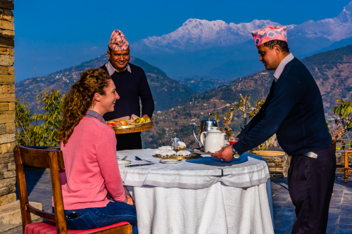 Experience heavenly Nepalese delights at this Himalayan lodge