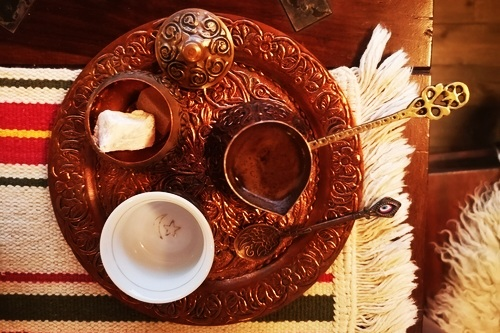 Bosnian coffee for breakfast