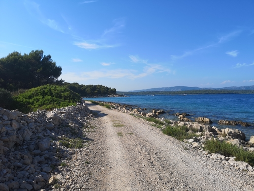 Soaking up the scenery along the Adriatic Coast