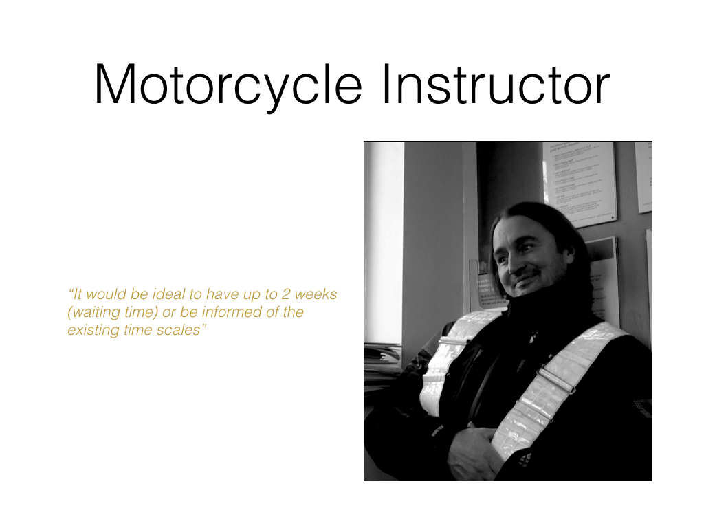 Motorbike Driving Instructor user profile