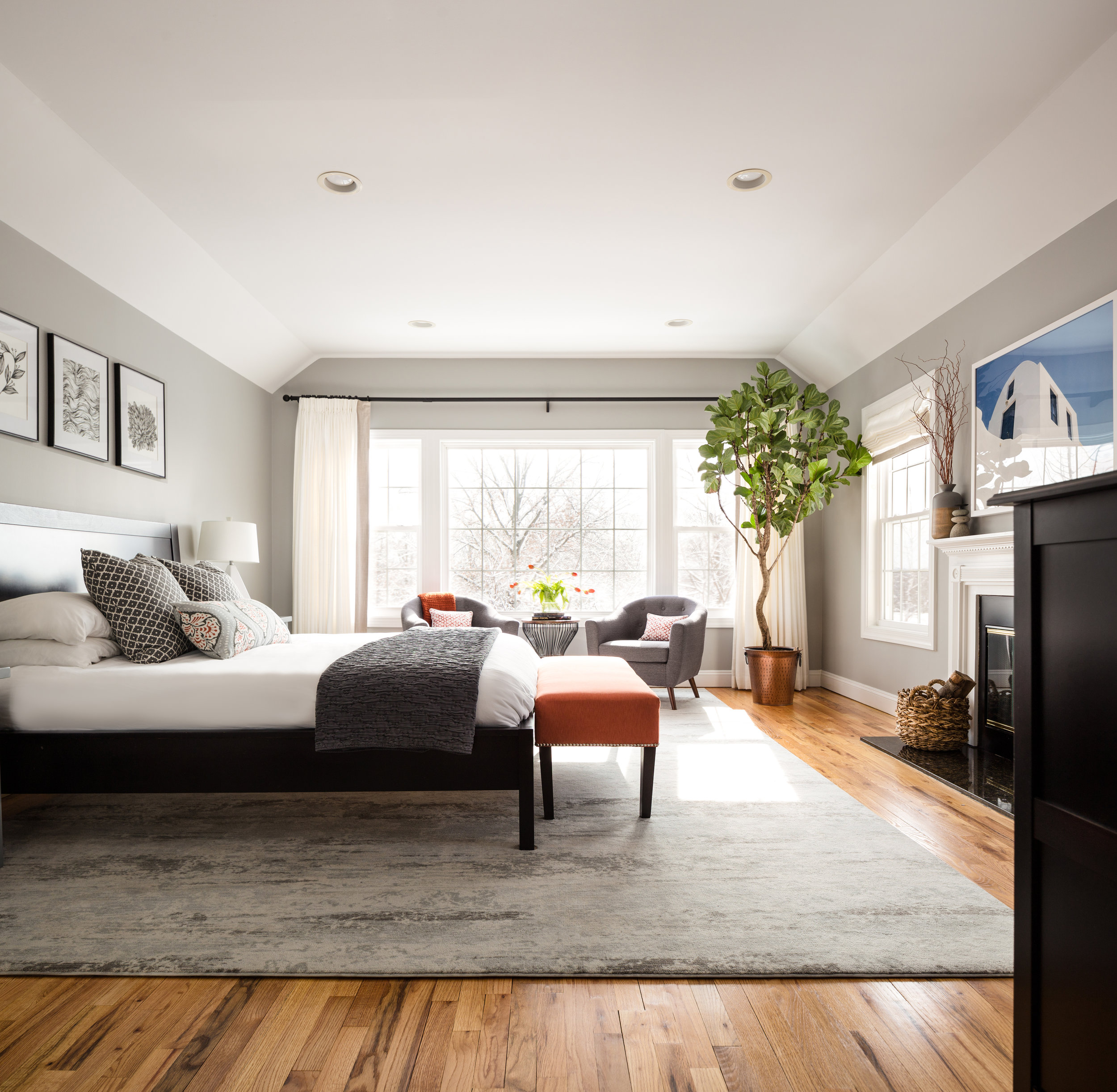 Interiors Photography - Bedroom Space