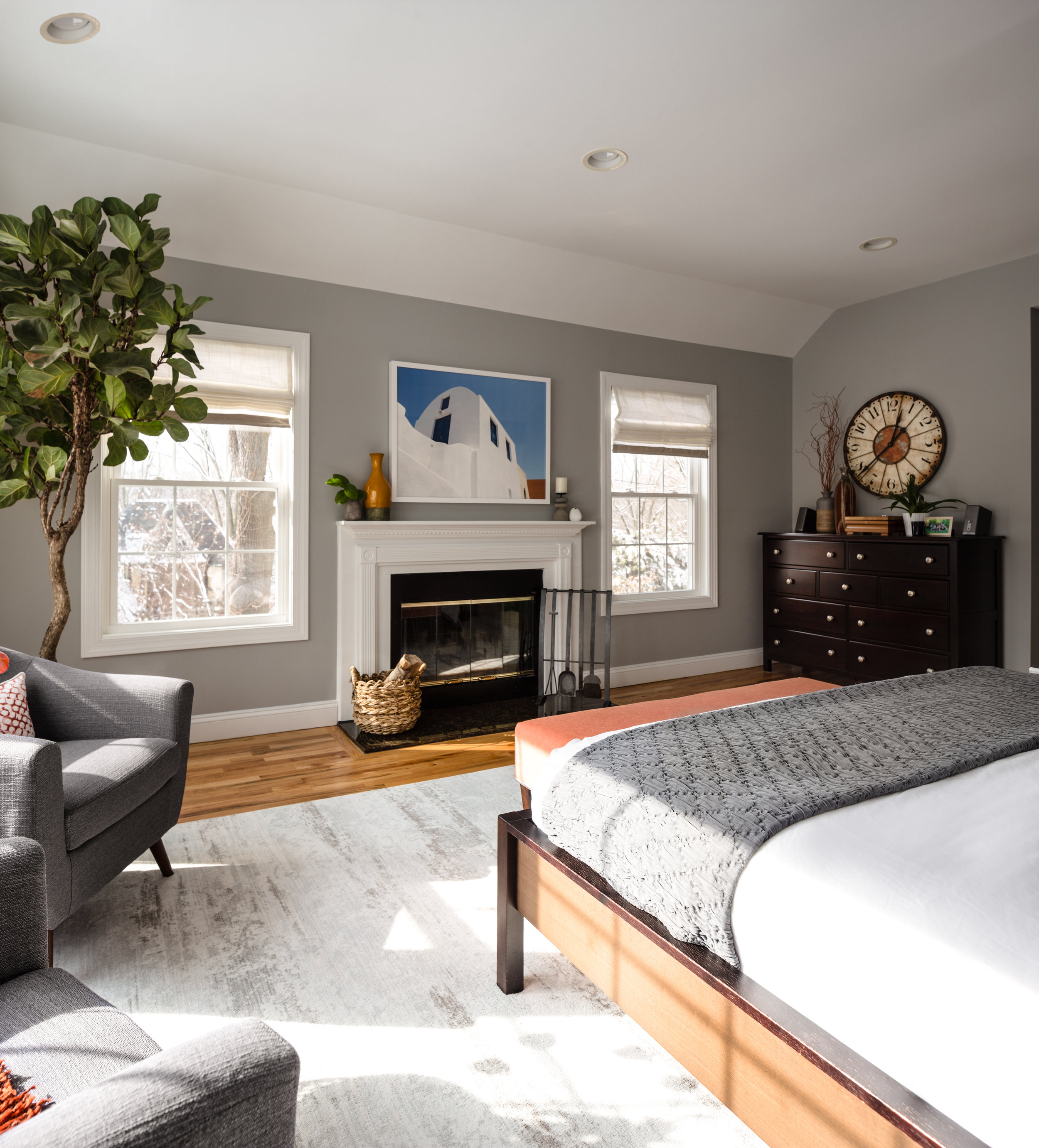 Interiors Photography - Bedroom Area