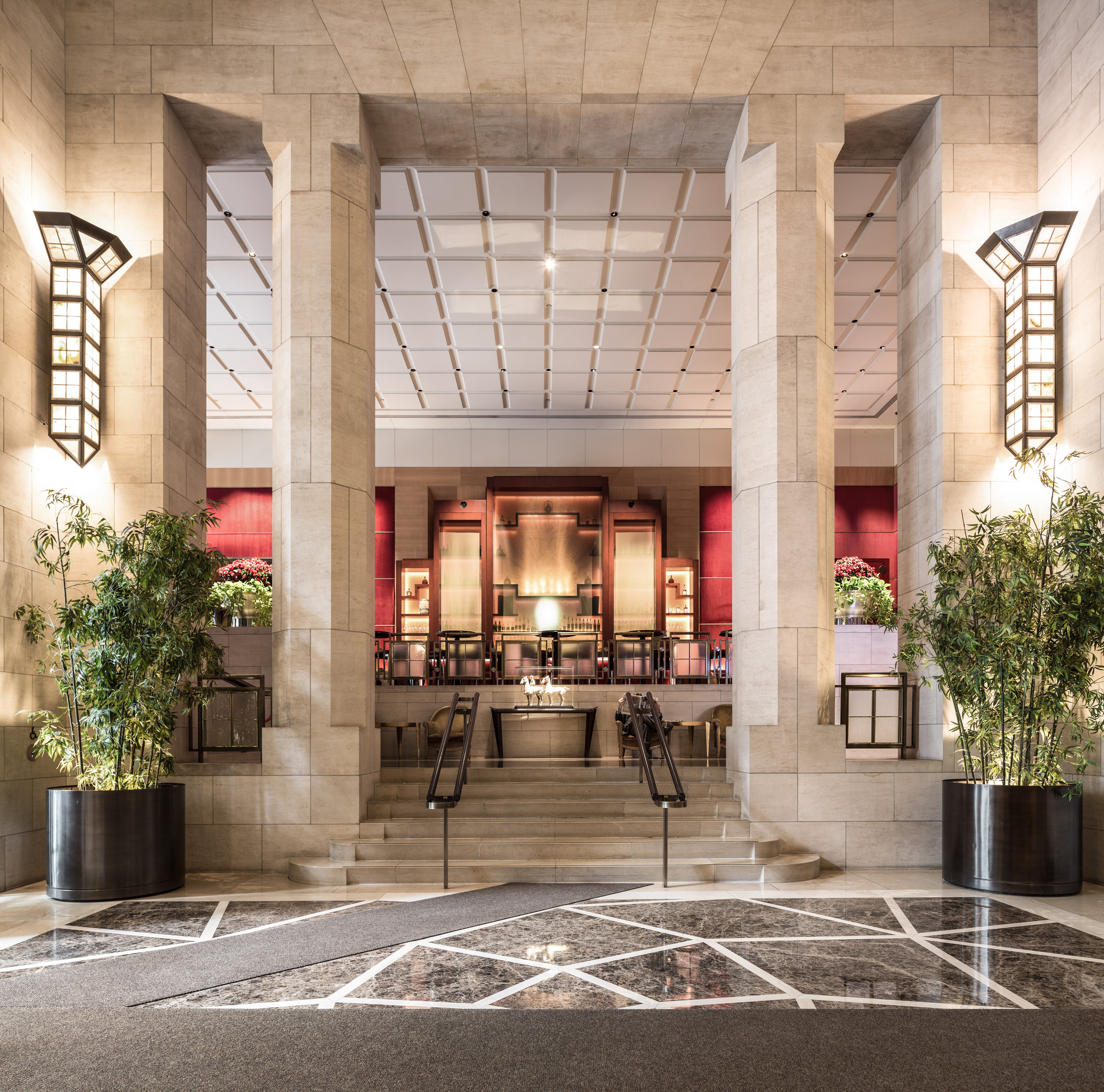 Architectural Photography - The Four Seasons Lobby