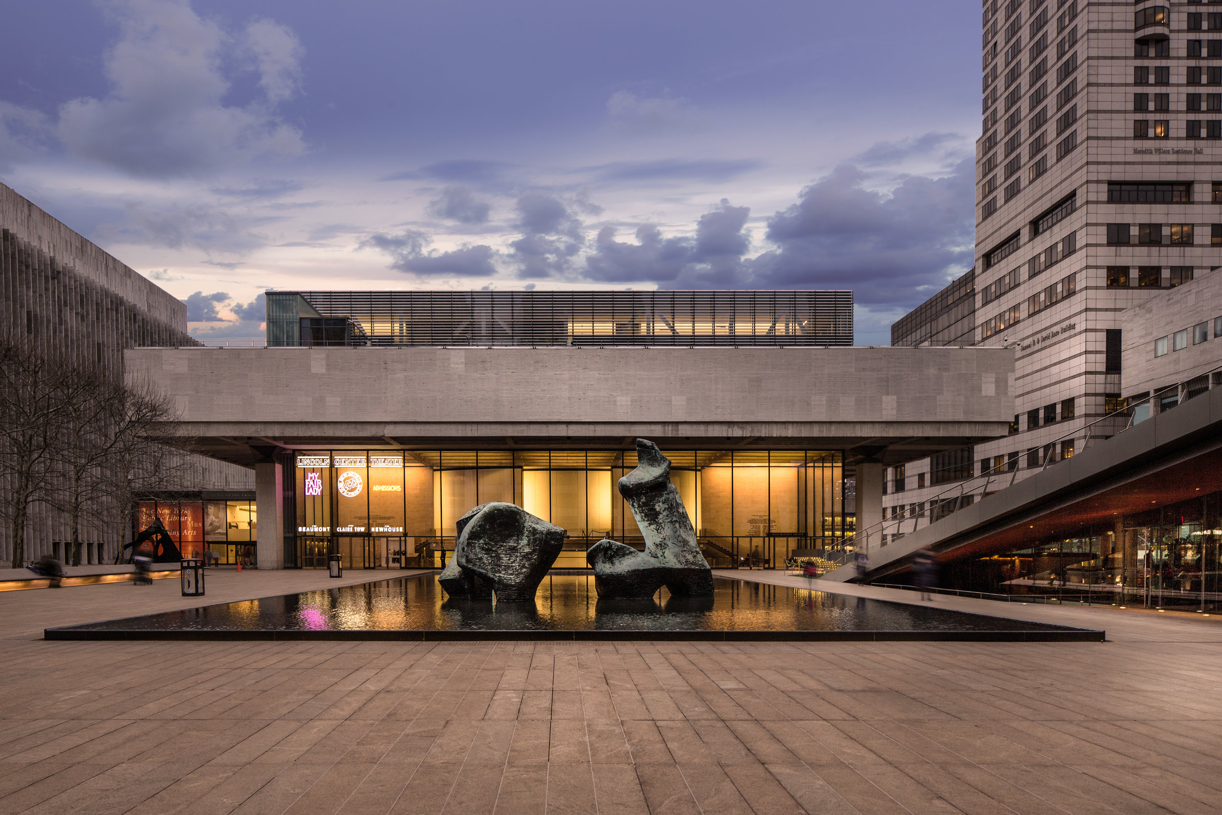 Architectural Photography - Lincoln Center Dusk