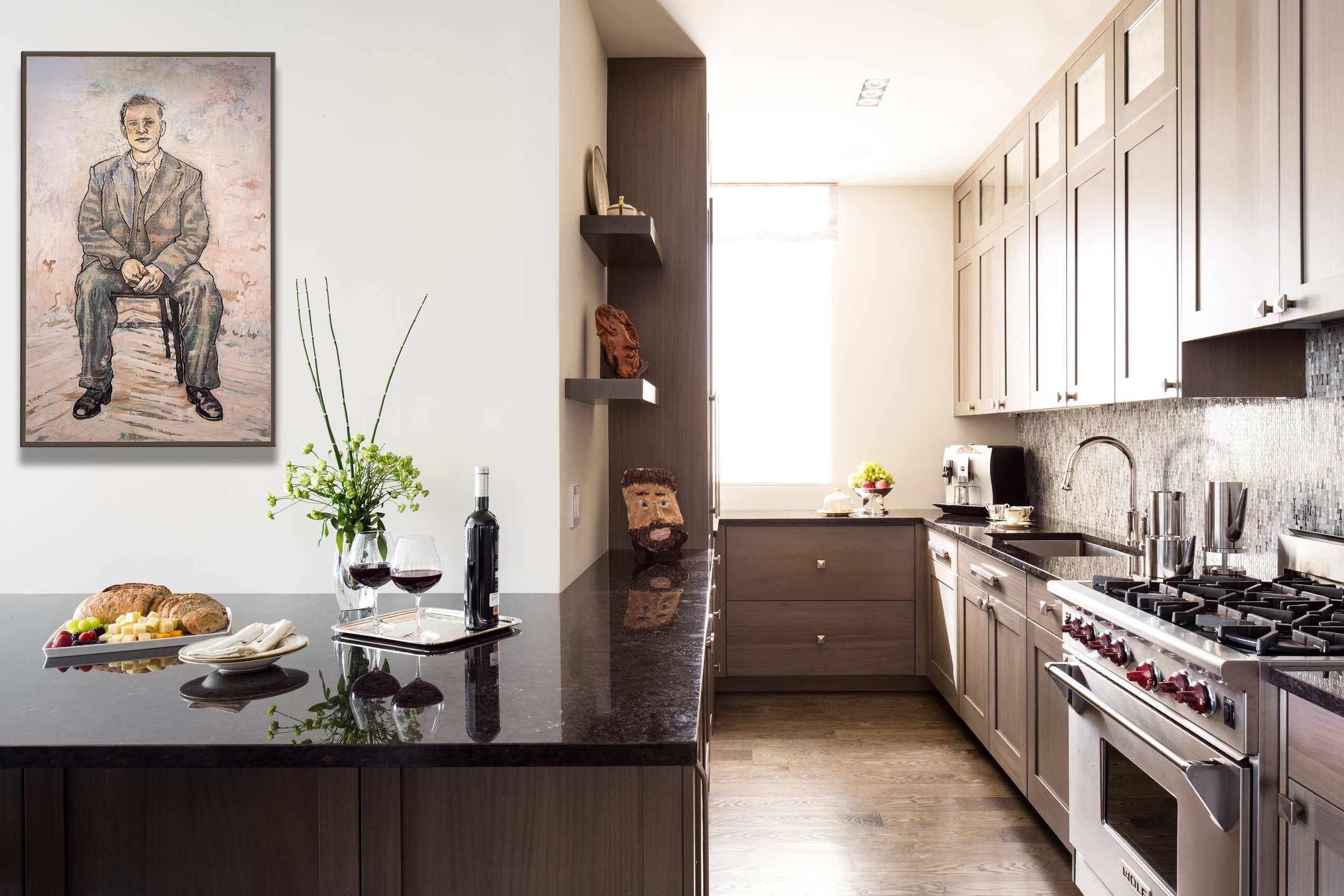 Interiors Photography - Penthouse Kitchen
