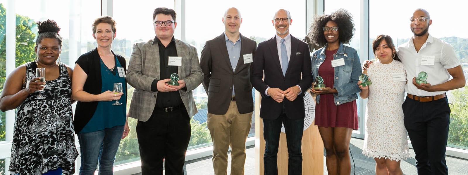 Christopher Baine wins UNCSA Artpreneur of the Year  Award