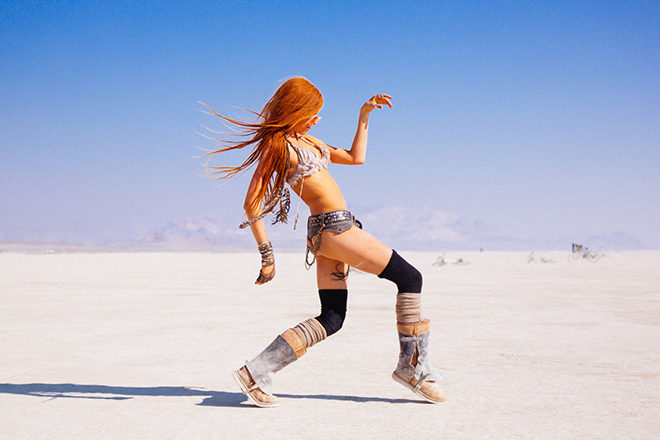 Burning Man 2016. Photo by Galen Oakes