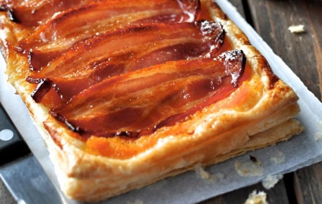 Maple Bacon Breakfast Tart