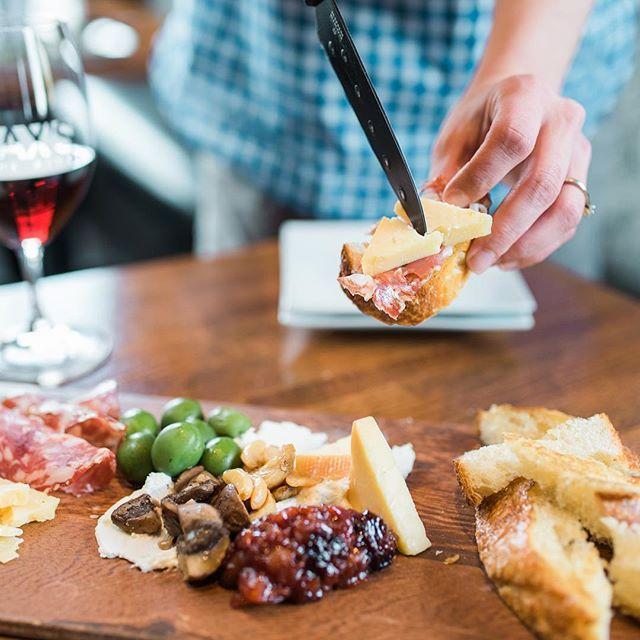 Cheese board at MAX's Wine Dive