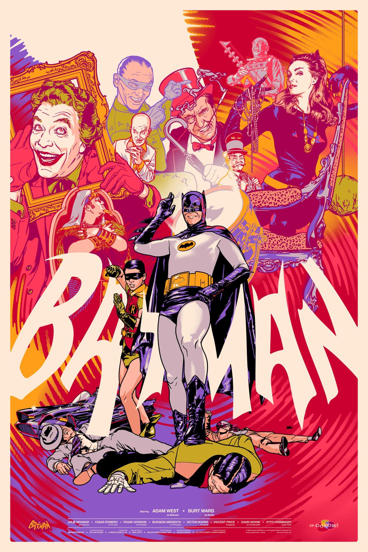 Martin Ansin  'Batman 1966' variant.