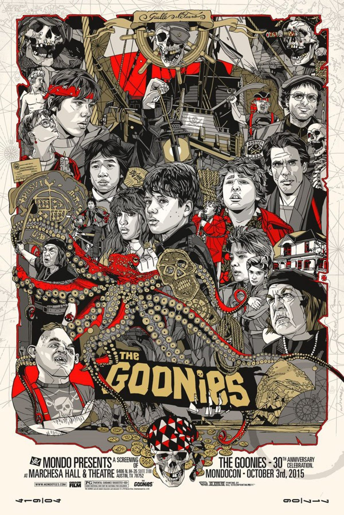 Tyler Stout  'The Goonies' variant.