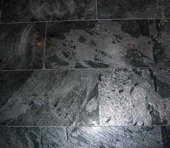 ostrich quartz slate, brick coursed