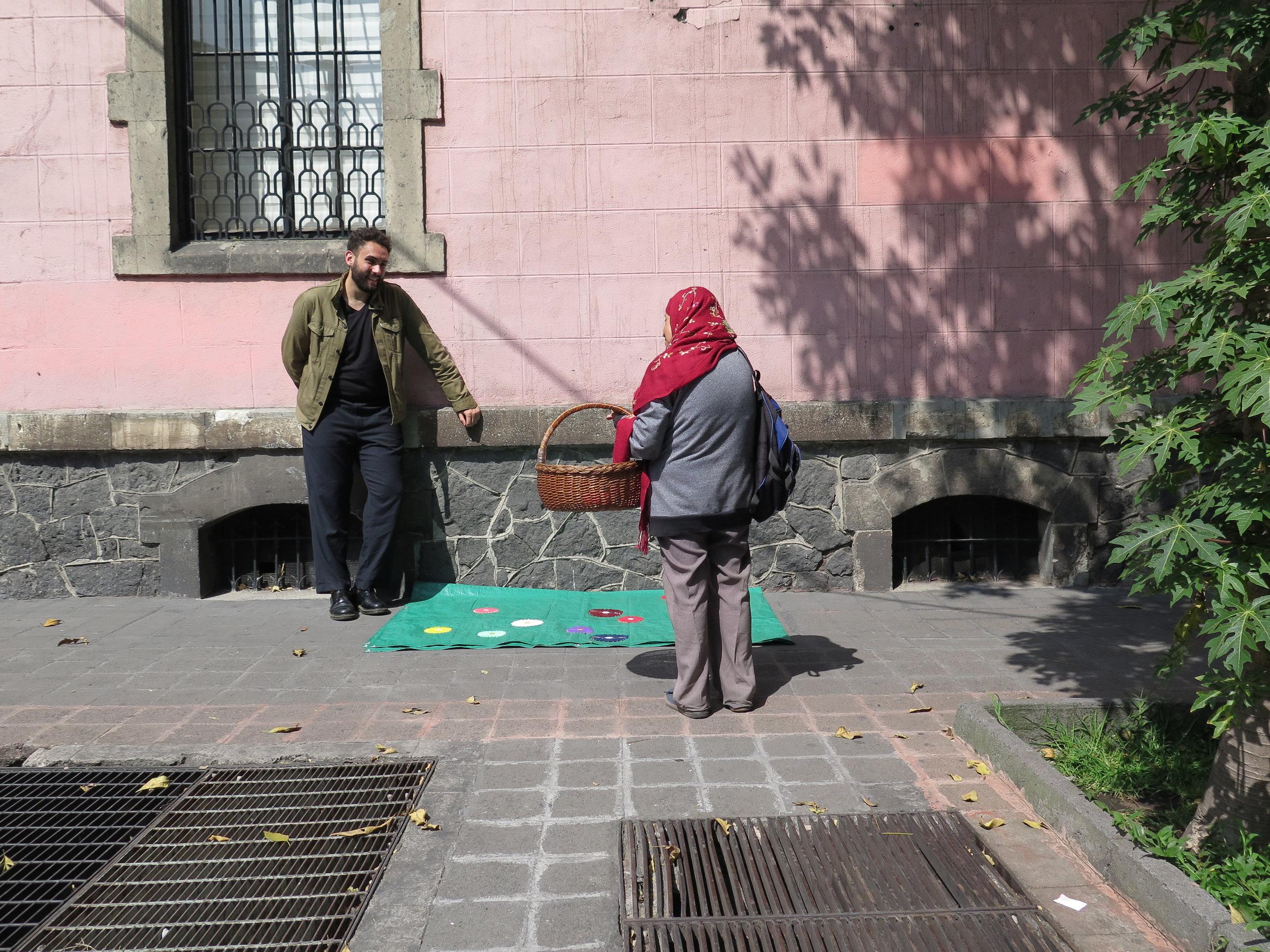 Jardim para David Hammons, 2017, Cidade do México