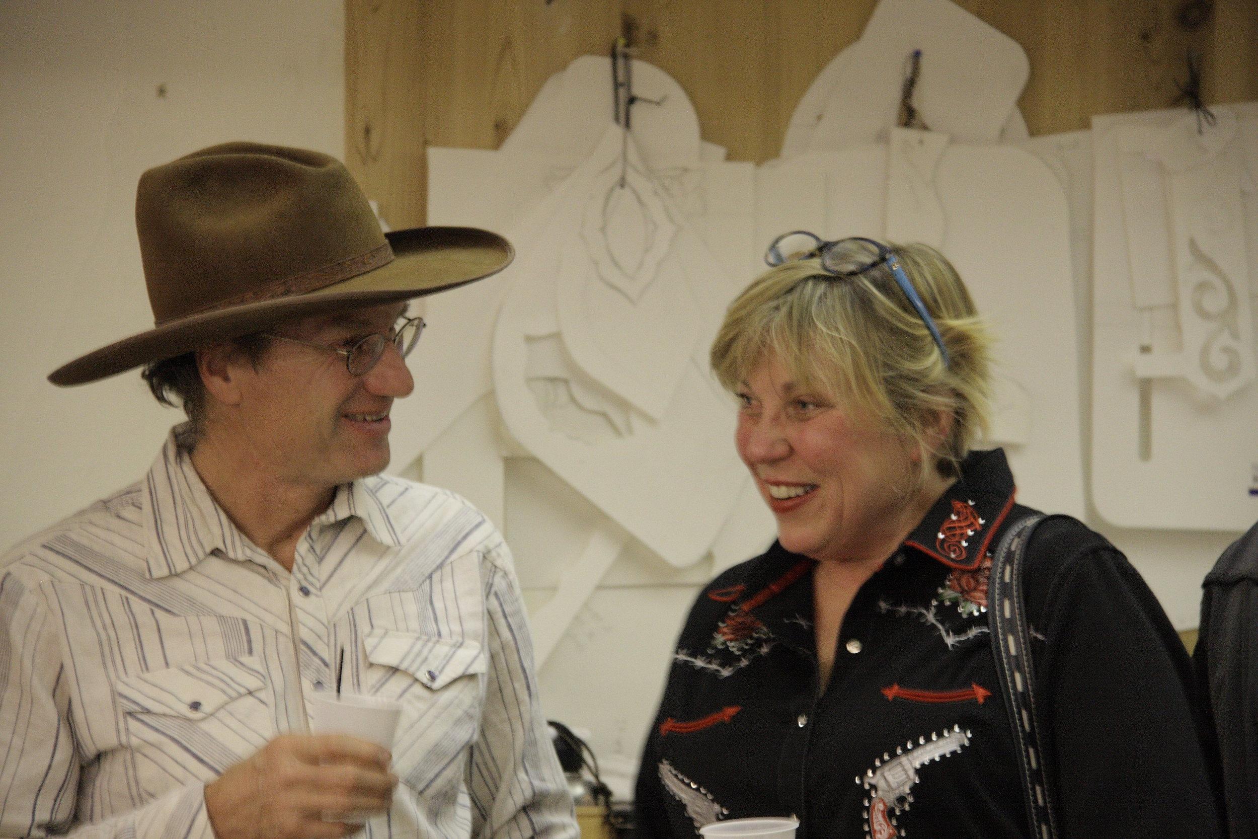 Jeff Morrow & Julie Pierce