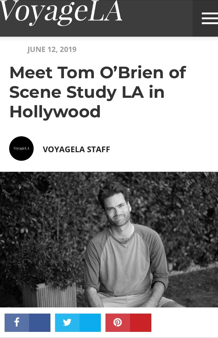 Tom in VOYAGE LA Magazine - Tom's interview with Voyage LA magazine is out now.Read HERE