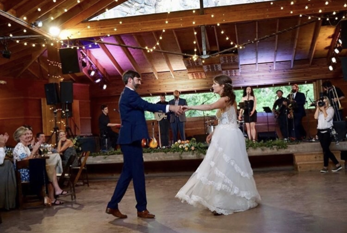 """Thanks so much for making our special day even more magical! The dance was a huge hit and we cannot thank you enough!"" Krista and Will - Vail, CO"