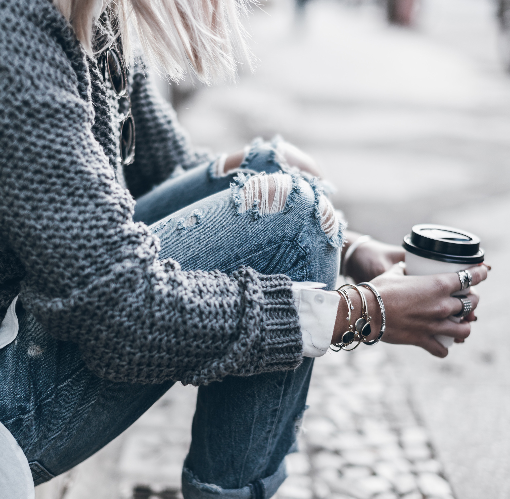 Jeans, jeans, and more jeans! The uniform on the mountain is pretty much a pair of skinny jeans, a sweater and boots so make sure to bring plenty options of your favorite denim. -