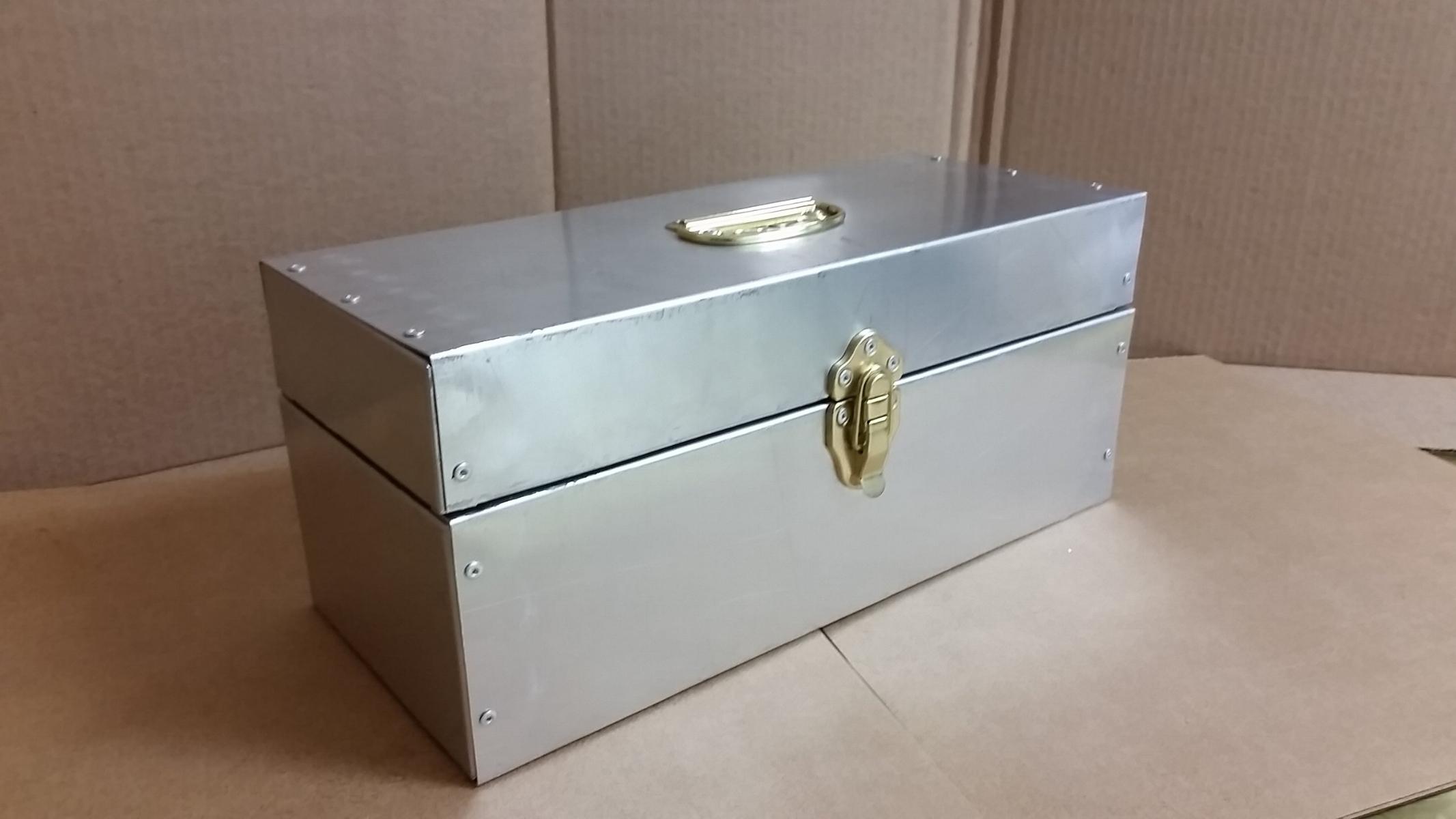ALUMINUM SECRETS BOX