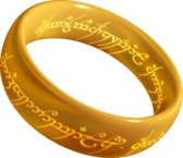 One Ring - by Xander - own work, Public Domain