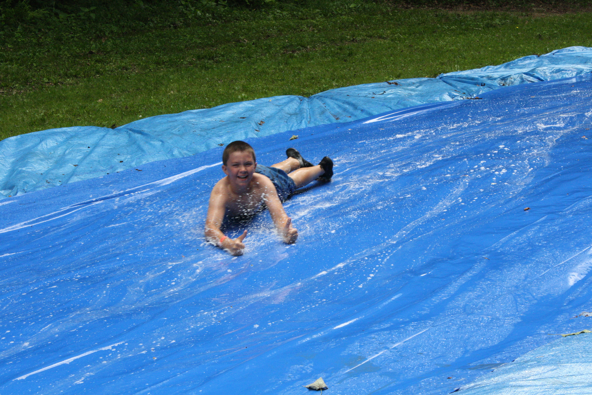 Camp Allegheny Slip n Slide