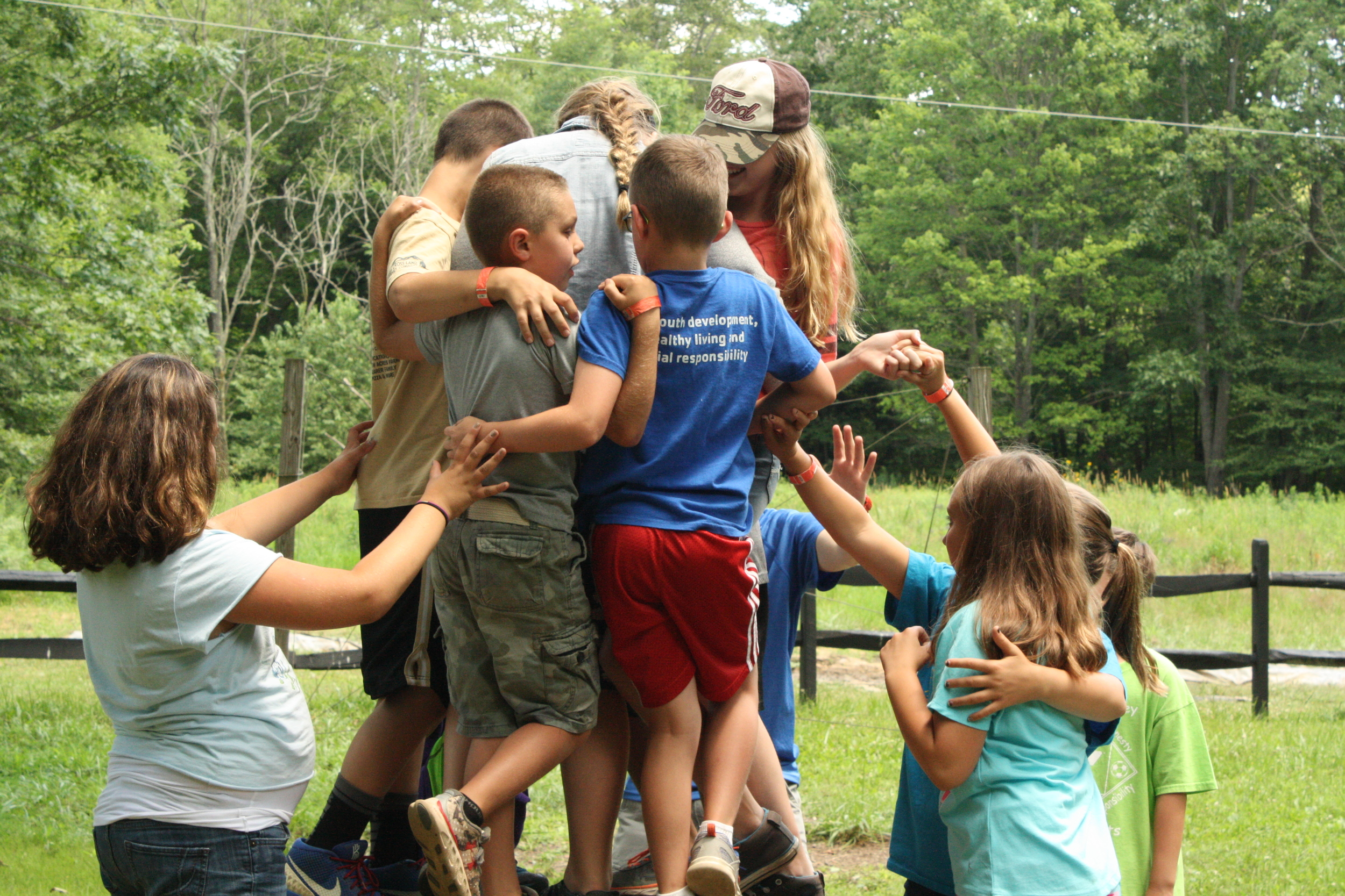 Camp Allegheny Group Challenge Course