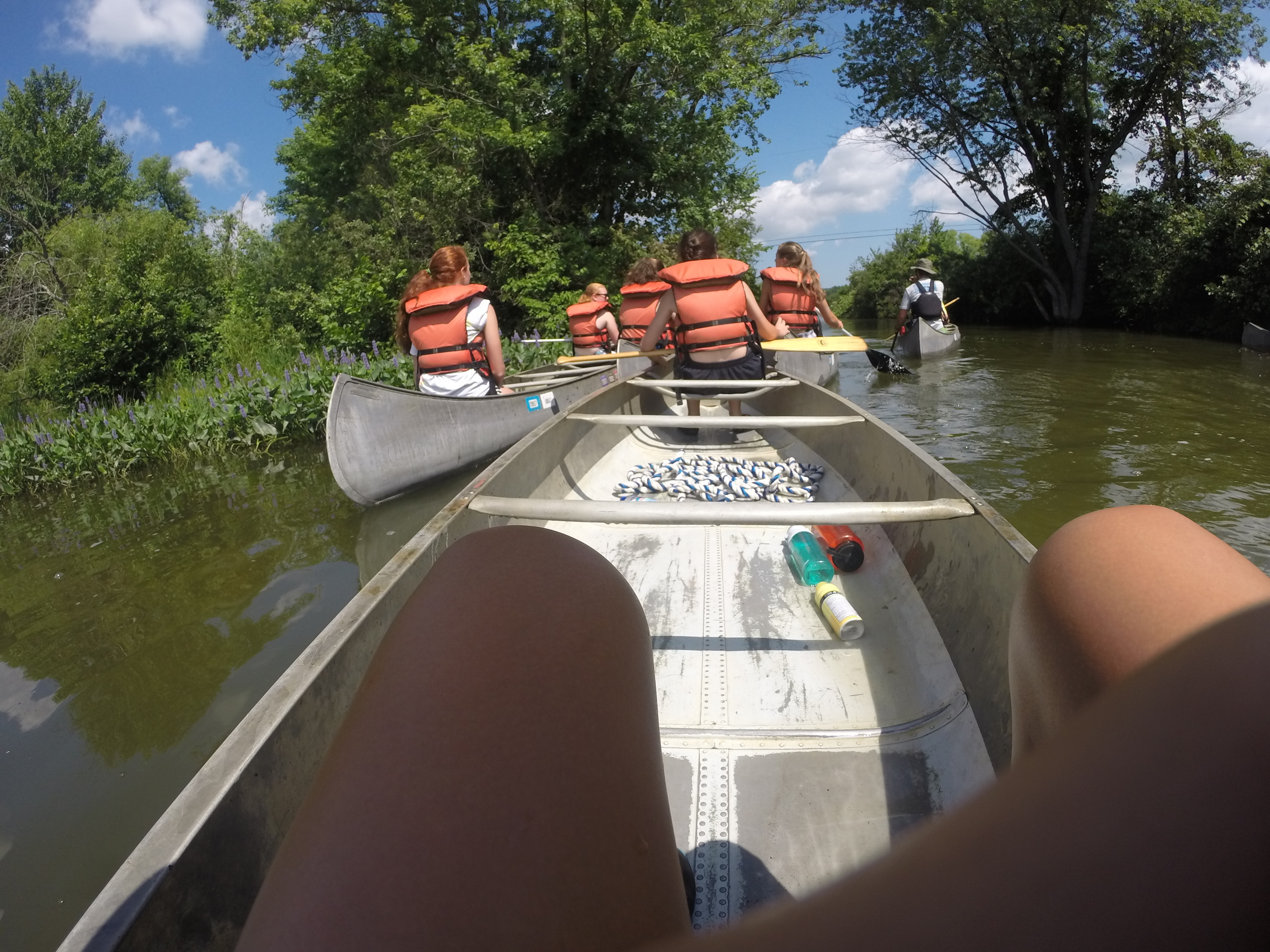 Camp Allegheny Canoeing