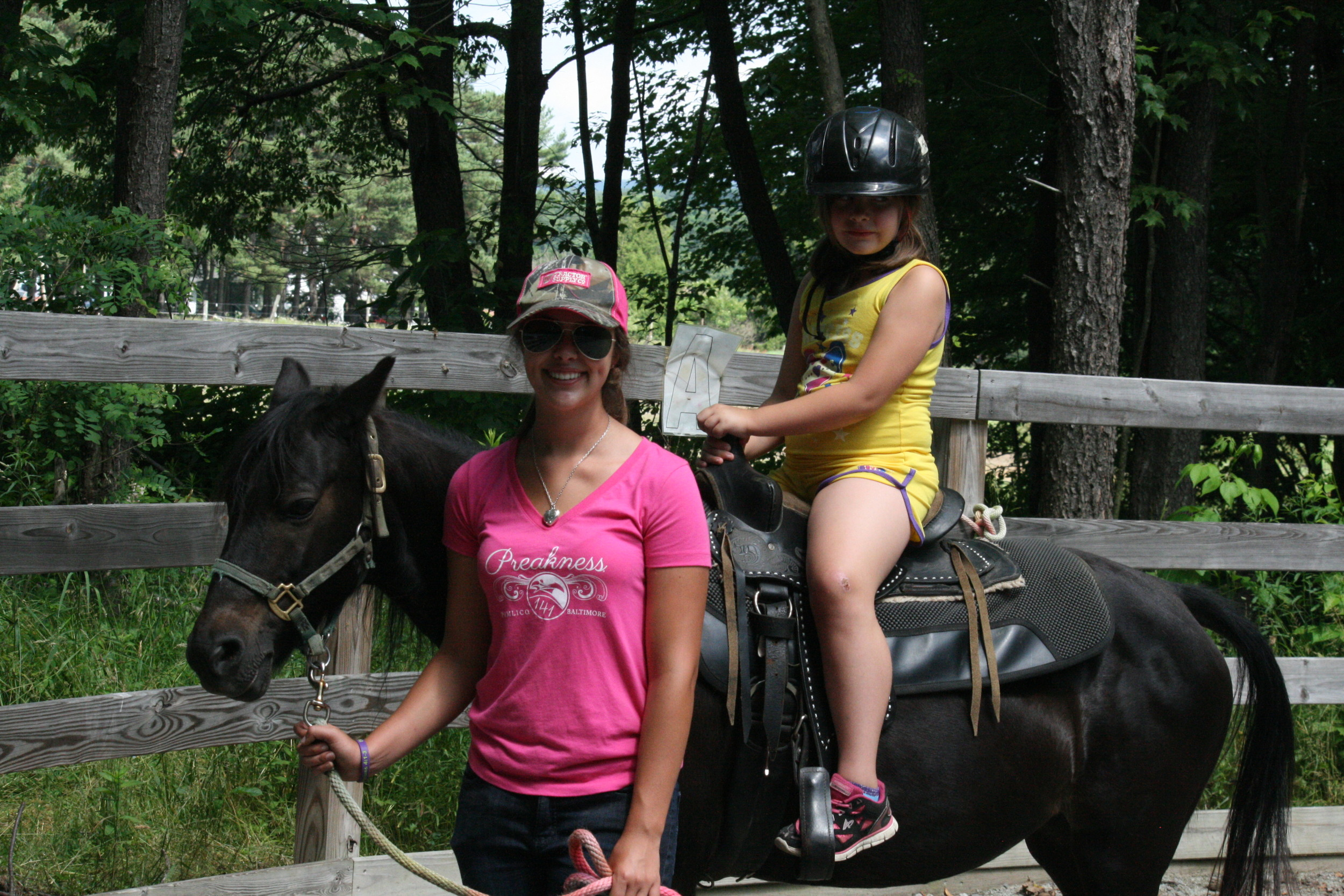 Camp Allegheny Pony Ride