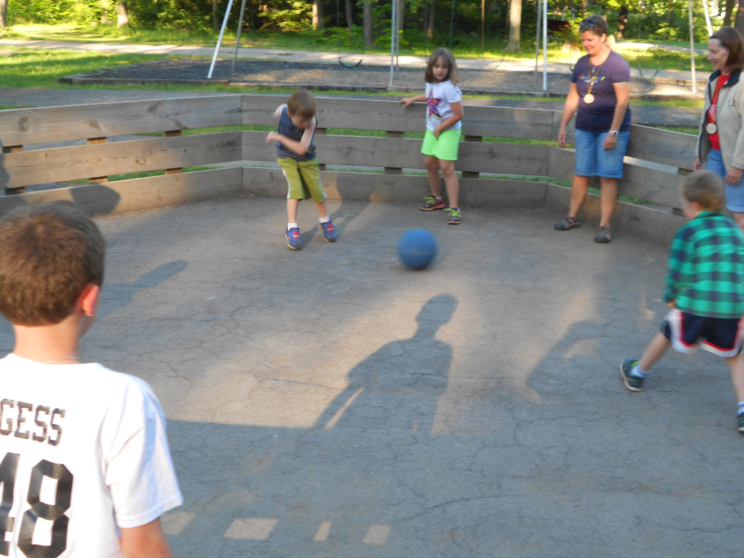 Camp Allegheny Gaga Ball