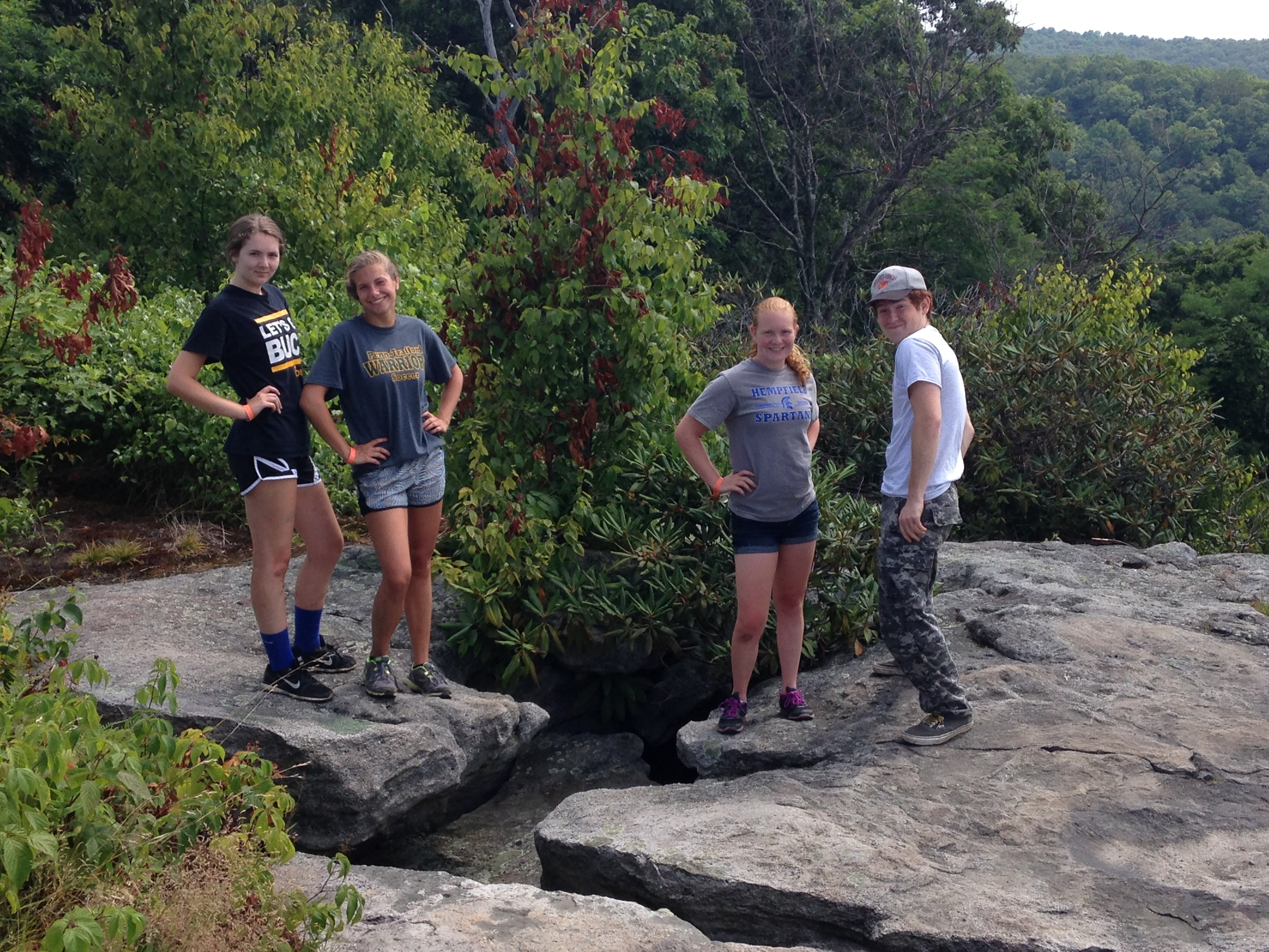 Camp Allegheny Rock Climbing