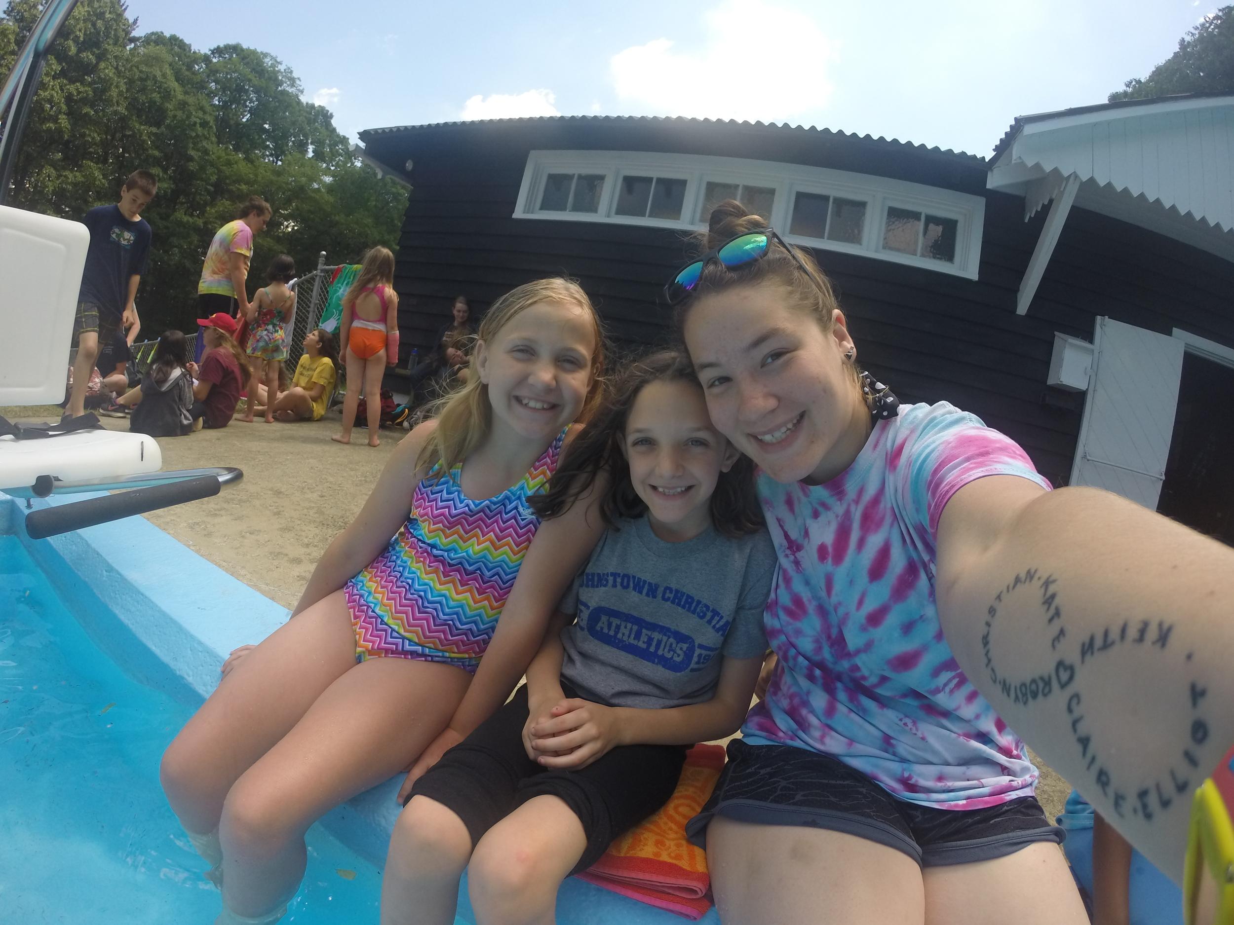 Camp Allegheny Pool