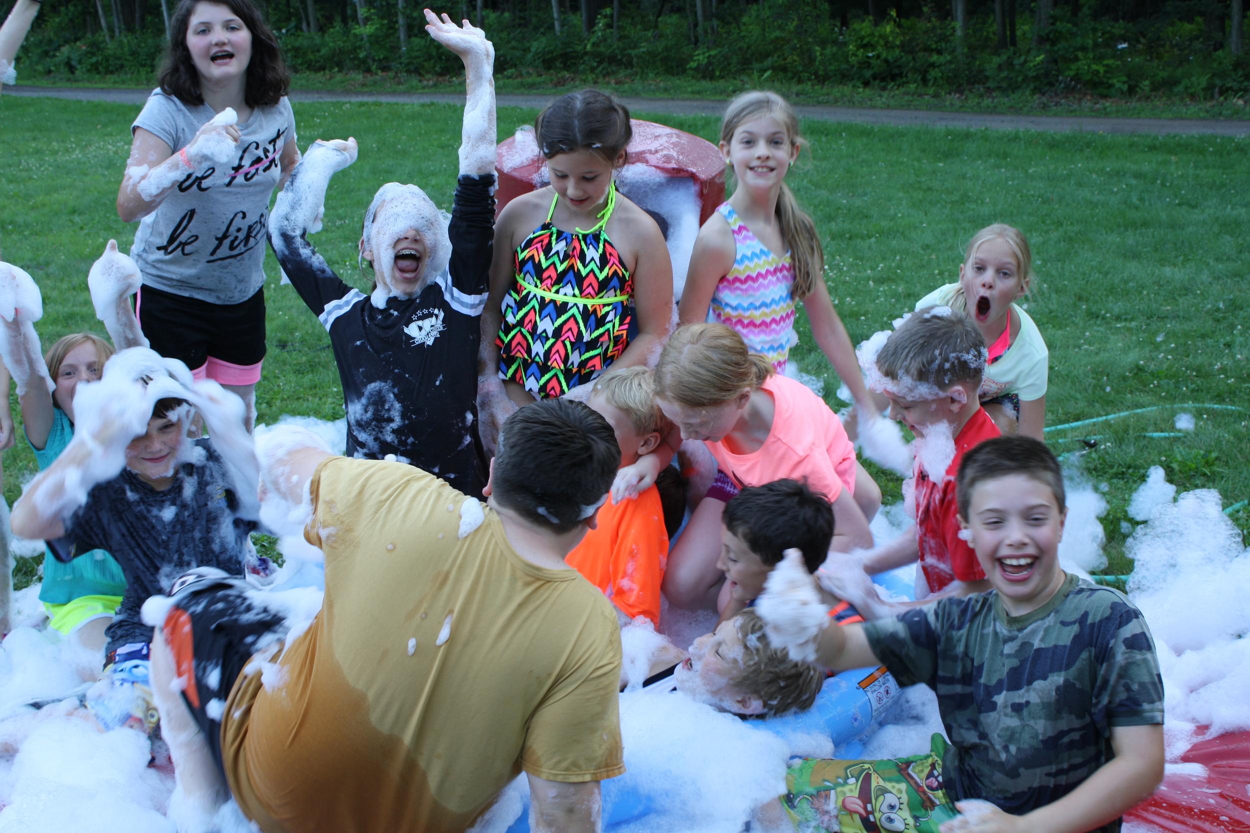 Camp Allegheny Kiddie Pool Kick Ball