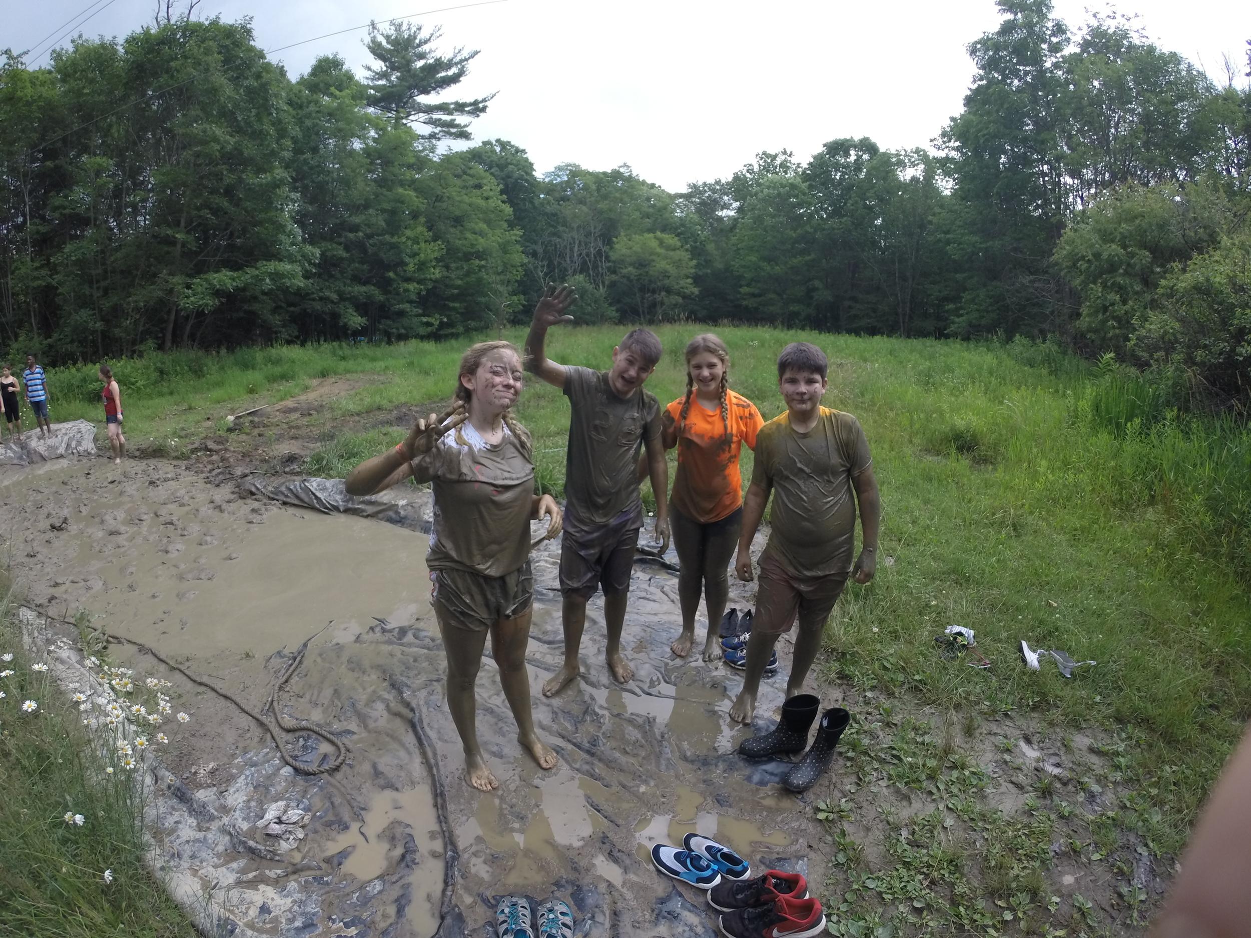 Camp Allegheny Mud Pit