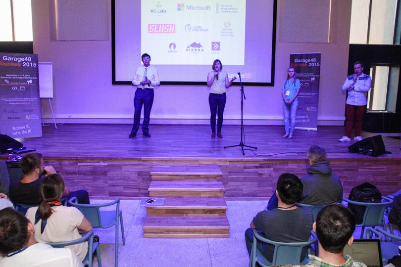 Photo: enot.kg, Garage 48 Hackathon in 2015