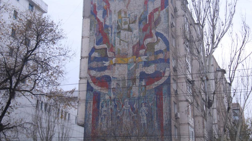 Zhyldyzbek Ahmatov's 'Prosper, Kirgizia' is located on Abdrahmanov str., in Iug-2 micro-district.