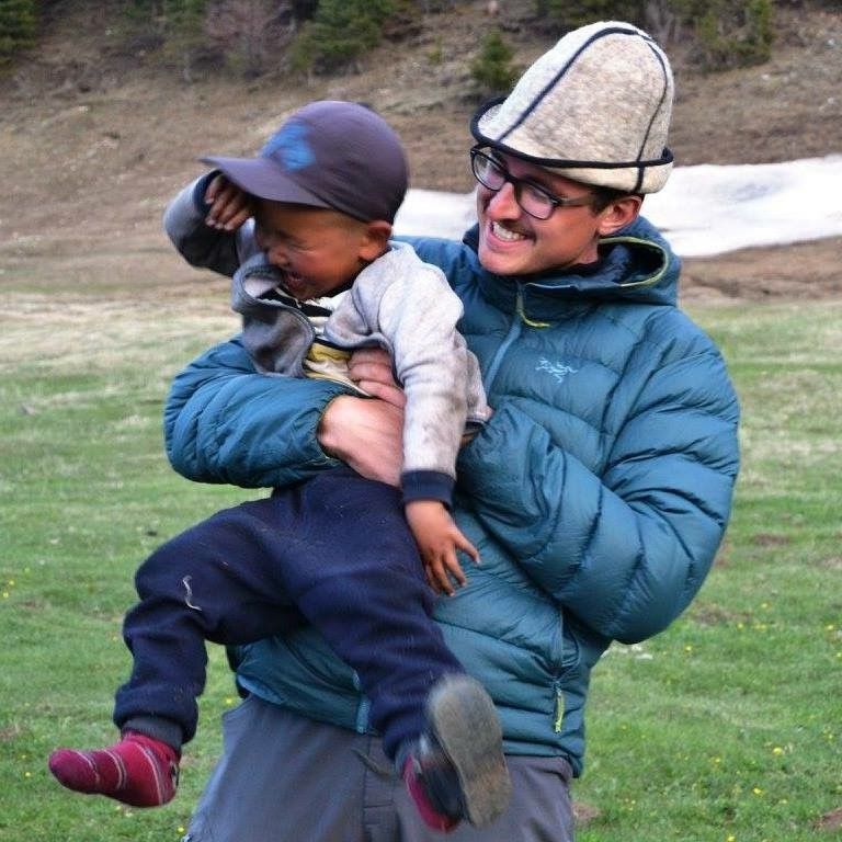 How do you make a nomad cry? Tickle him until he does! Kyrgyz Republic at its finest! — Alex Johnson