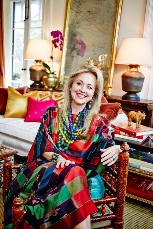 Susan Hall Walker, the founder and creative director of Ibu