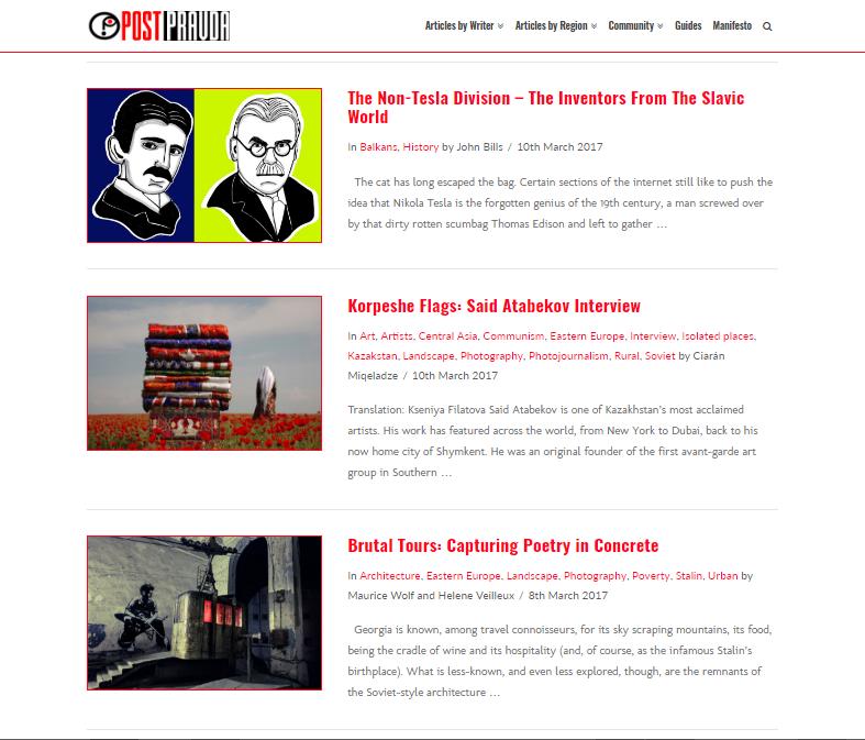 Post Pravda Magazine