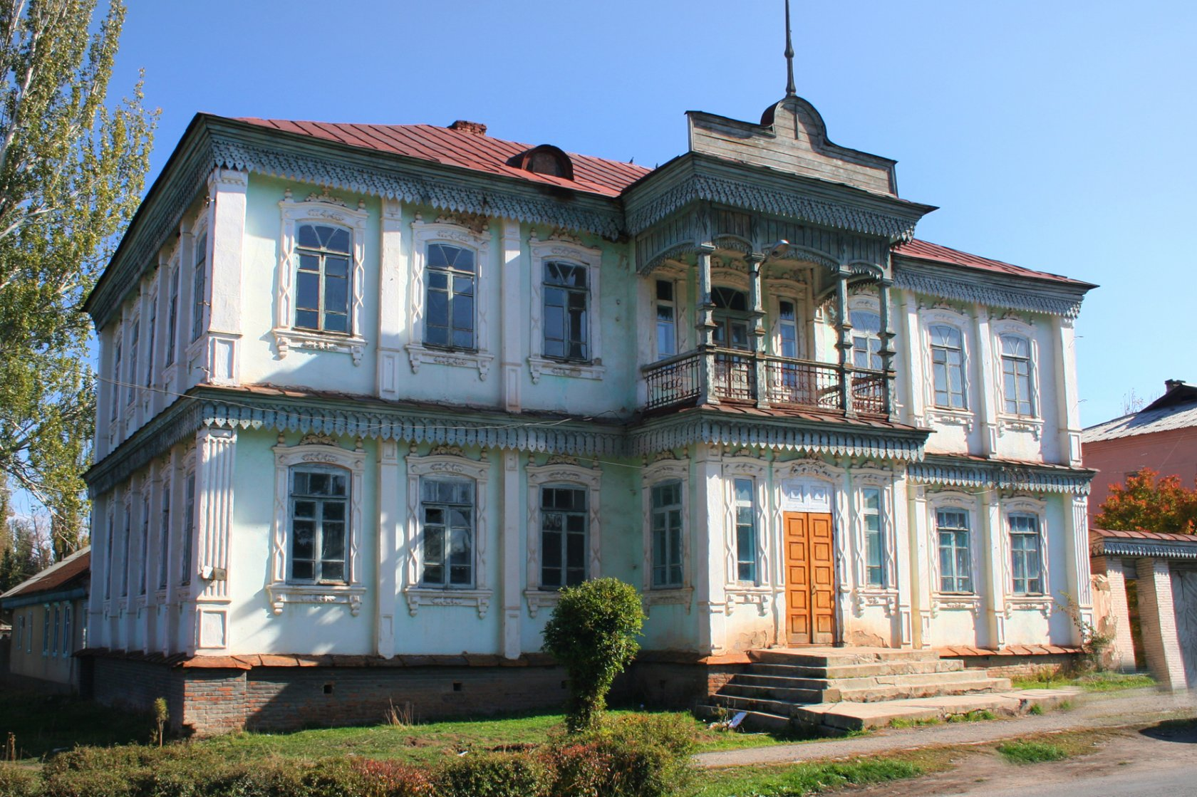 - The first Russian-native school of Karakol was a preparatory board, opened in 1874.