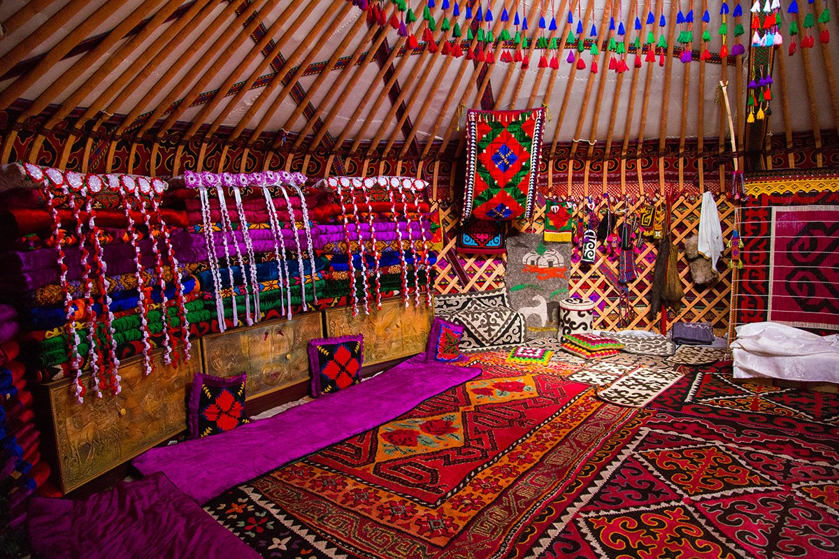 - There will be a real city of nomads in Kyrchyn: yurts, tents and other temporary housing of different nations.