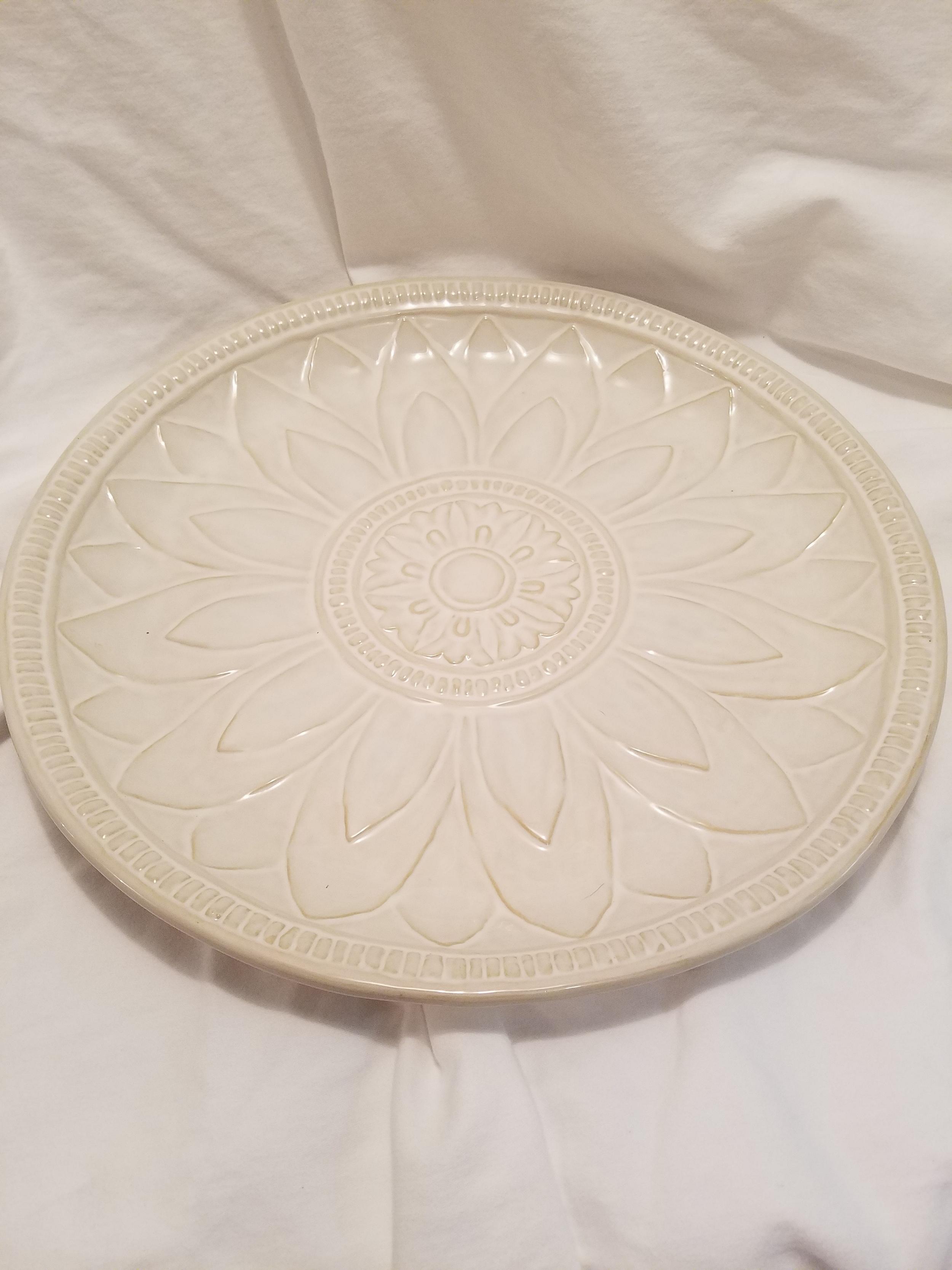 Medallion platter