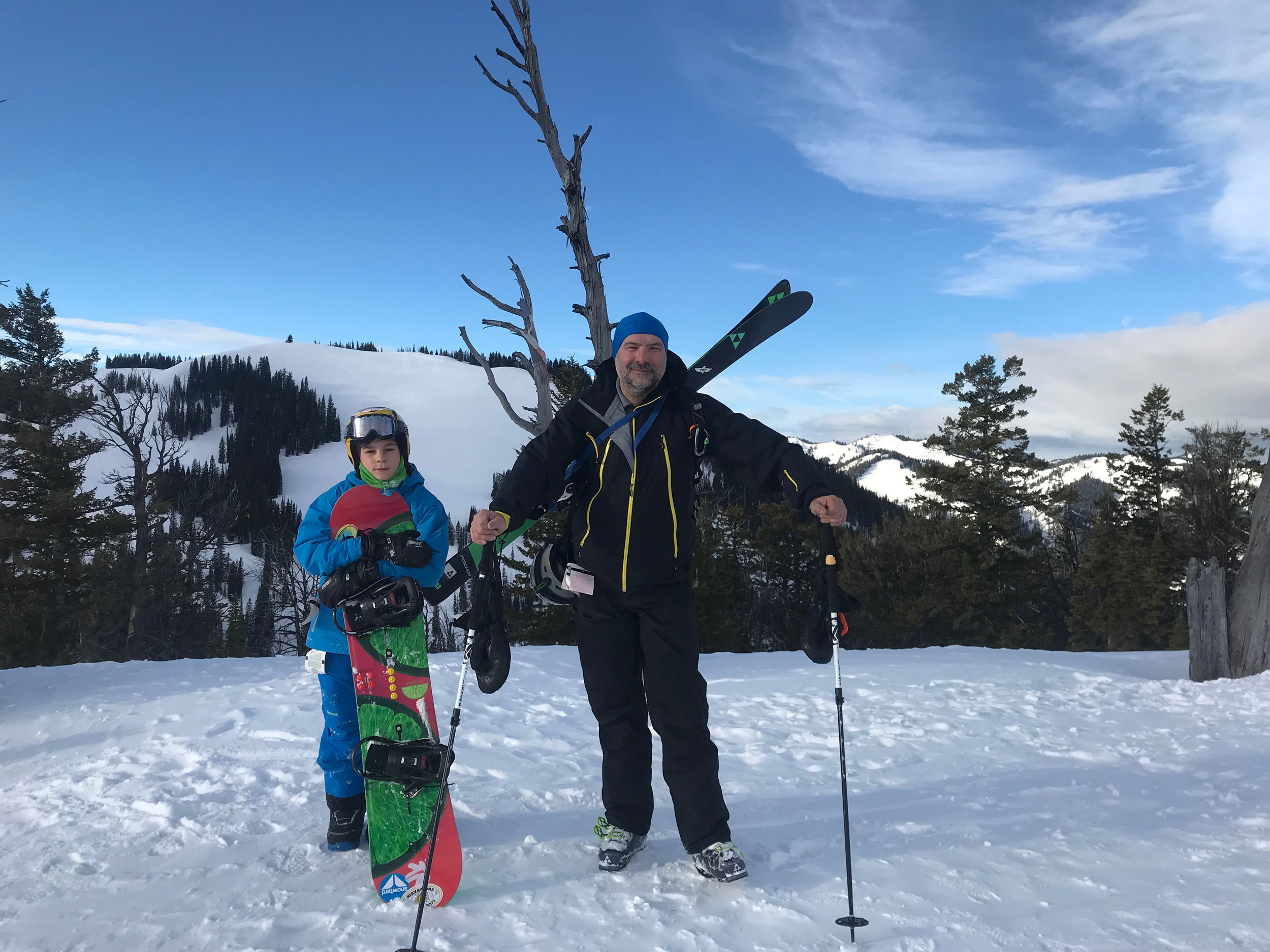 On to the winter sports in Jackson Hole, WY