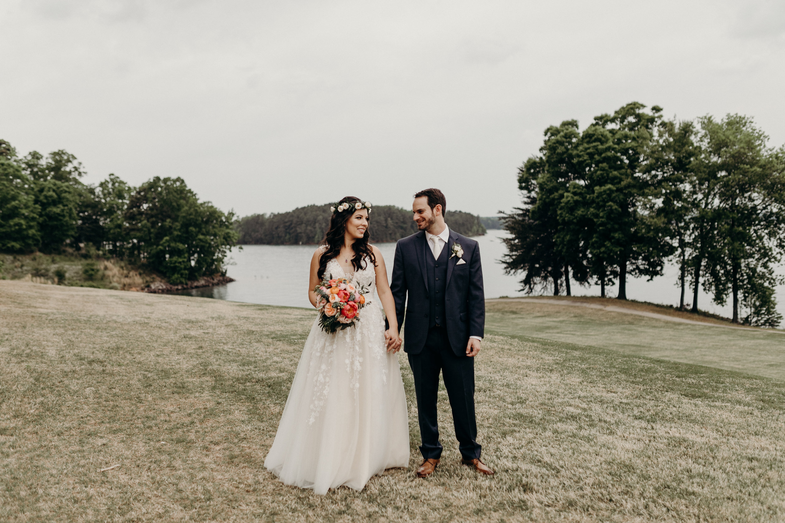 Bruna and Jordan Lake Lanier Wedding Atlanta GA Victoria Bonvicini Photography-104.jpg