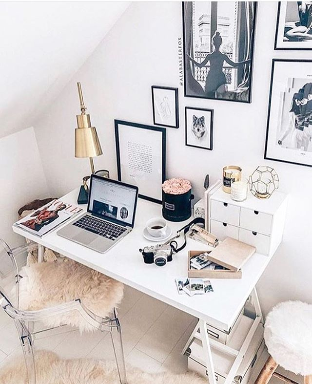Organized spaces for organized minds. Thanks for the #officeinspo @girlbossdiary 💕👩🏼‍💻