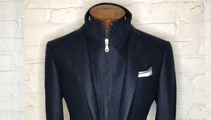Custom Zip-Up Sport Coat -