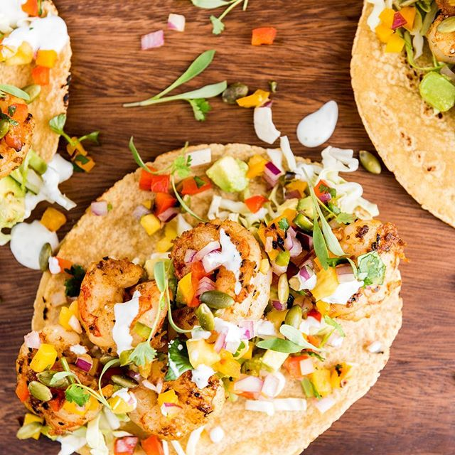 Shrimp tacos with avocado, crema and grilled pineapple salsa. Perfect for your weekend Cinco de Mayo celebration! Recipe in the archives and link in profile 🌮 I'm leaving for Waco, TX tomorrow. Any restaurant recommendations? 📷: @porkbellystudio #thecitykitchensf #mymarinkitchen #timeforamargarita • • • • • #spring #grilling #testakitchen #salsa #pineapple #shrimp #grilled #tacos #cooking #feedfeed #f52grams #goopmake #tastingtable #buzzfeast #yum #foodpic #huffposttaste #margaritatime #foodporn #foodphotography #foodandwine #beautifulcuisines #instayum #bhgfood