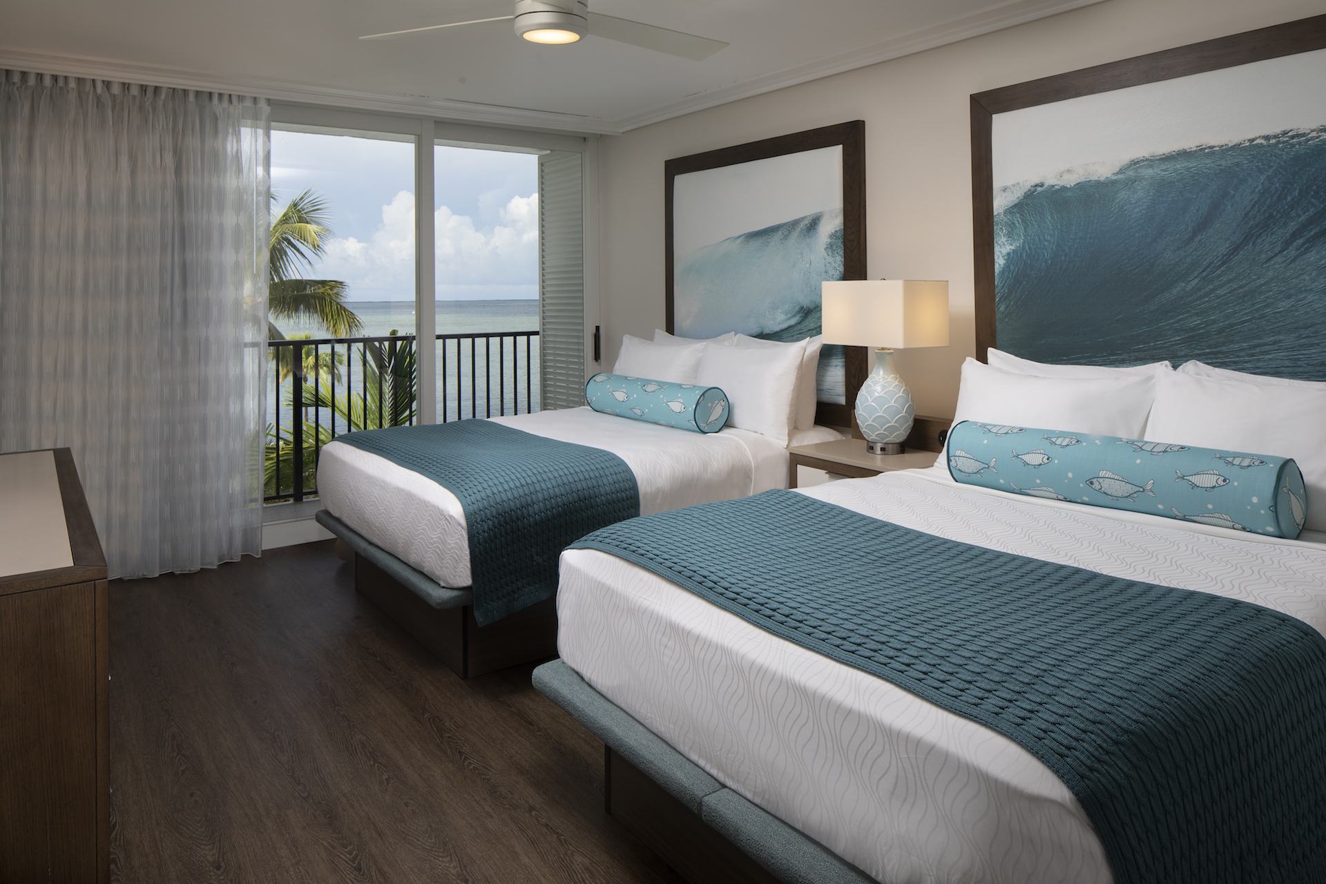 The Laureate Key West guest room with two queen beds