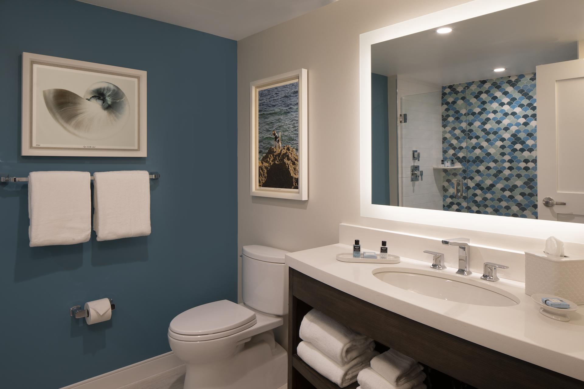 The Laureate Key West bathroom