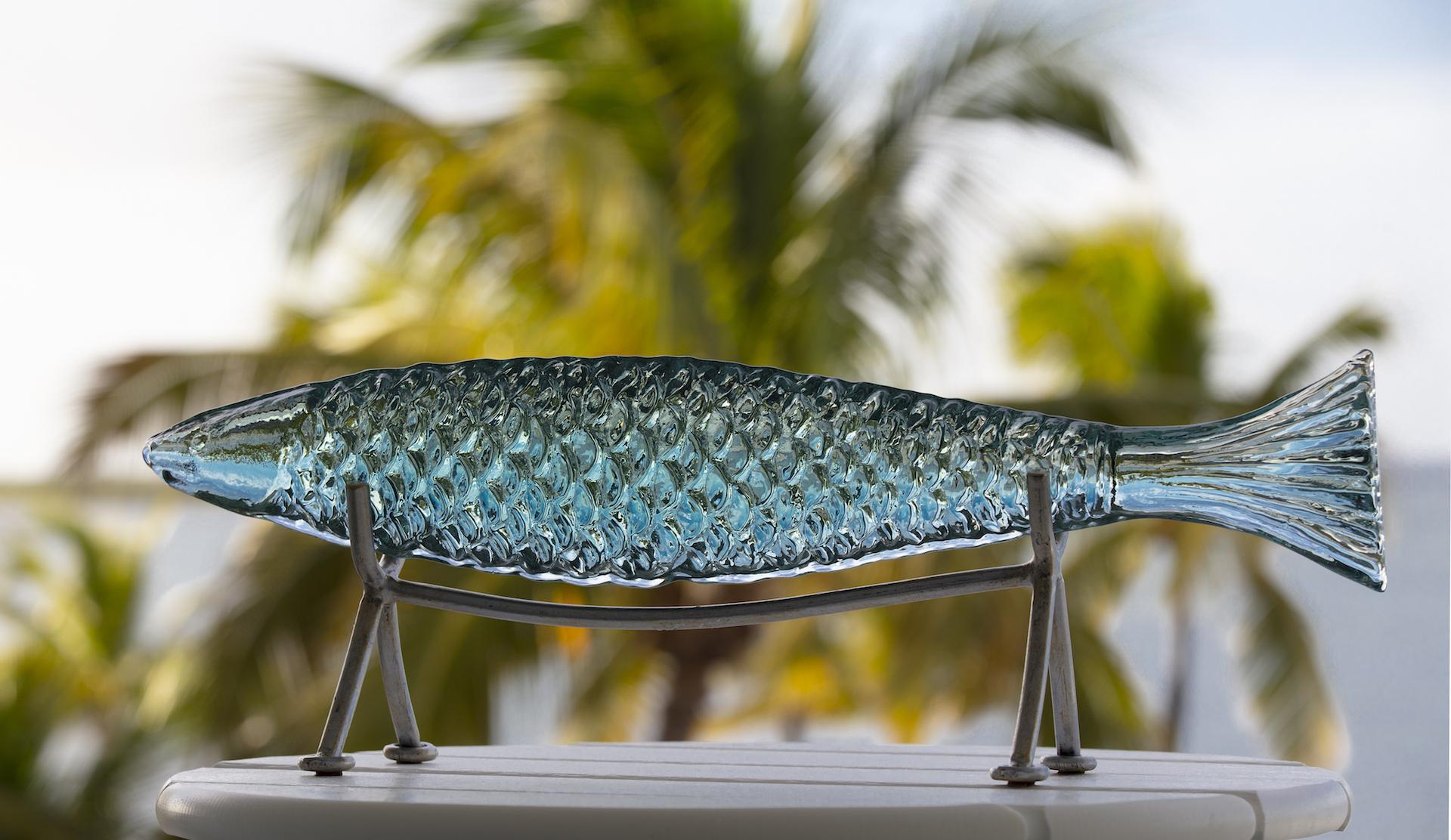 glass fish creative image
