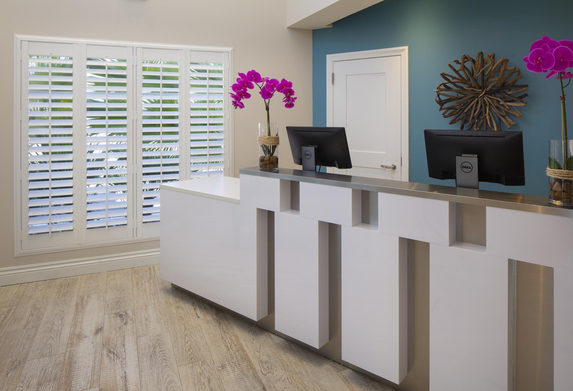 The Laureate Key West front desk