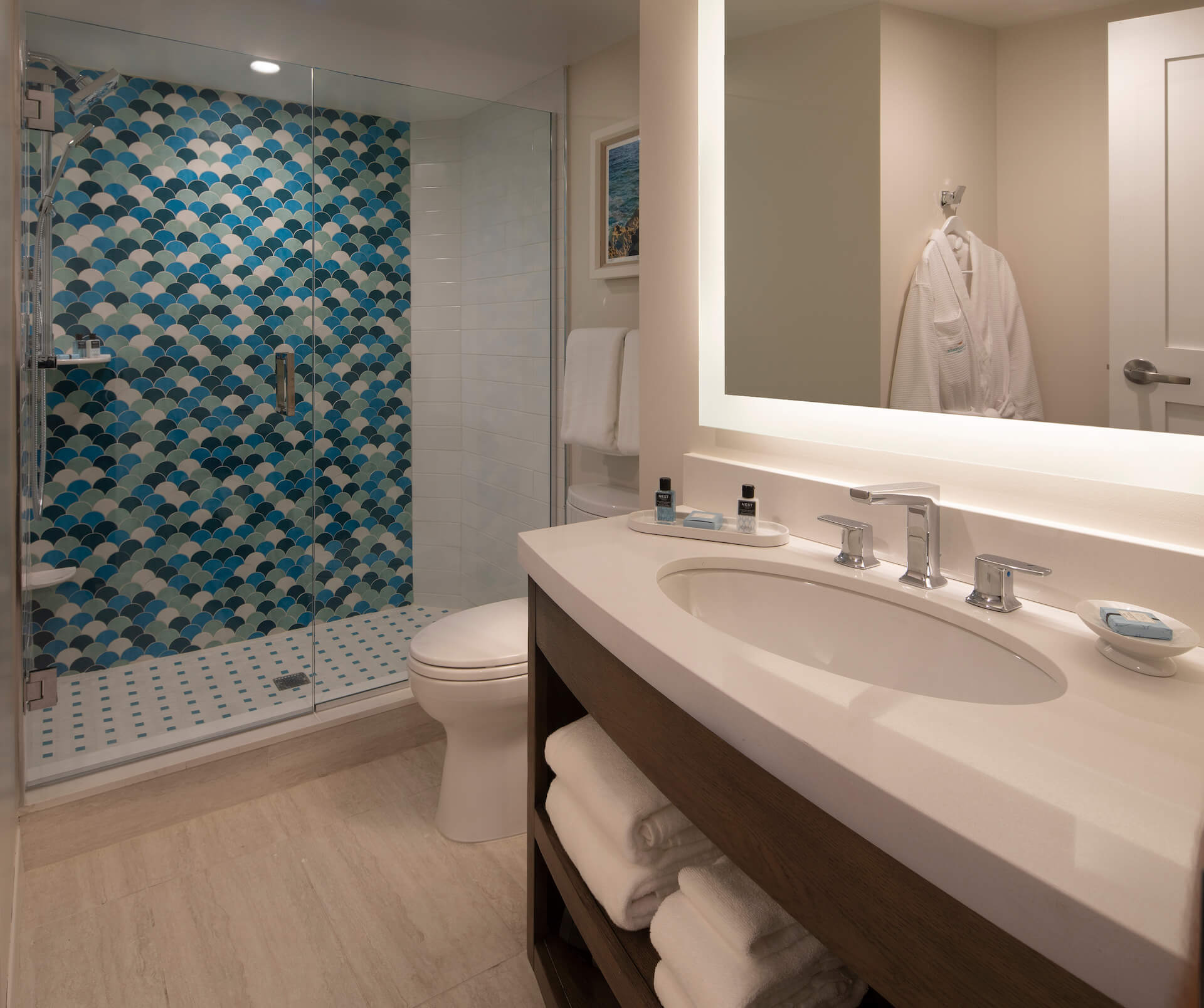 A One Bedroom King Ocean View Suite